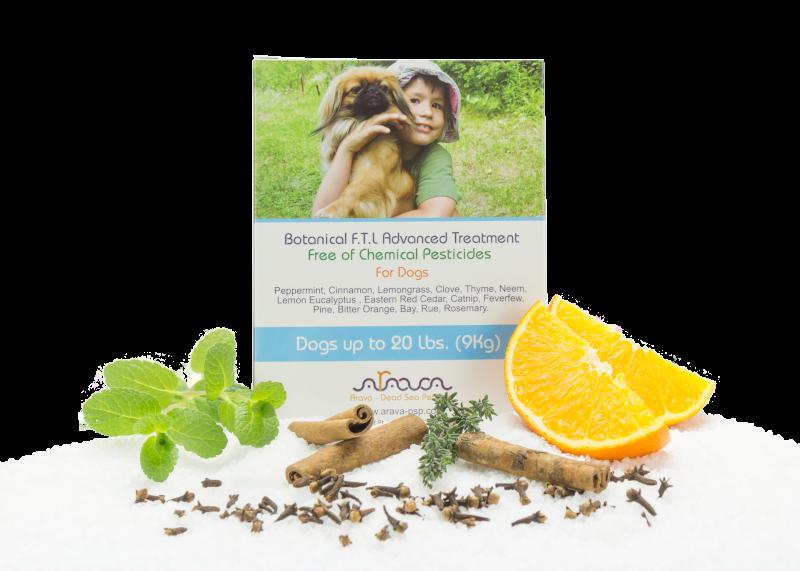 Bylinné antiparazitné pipety pre psov do 9 kg Arava